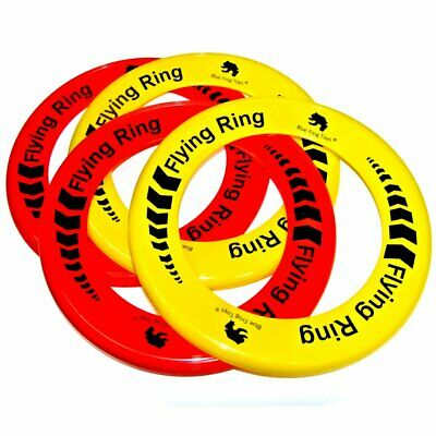 Pack Of 24 Flying Rings - Fun Outdoor Summer Toys - Game Frisbee Type Toys • 15.99£
