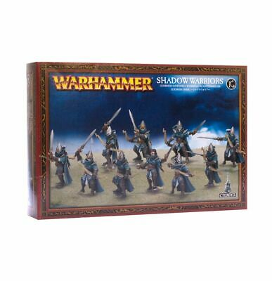 High Elf Aelves Shadow Warriors Warhammer Age Of Sigmar 20% Off UK Rrp • 23.78£