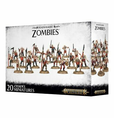 Deadwalkers Zombies Warhammer Age Of Sigmar 20% Off UK Rrp • 19.98£
