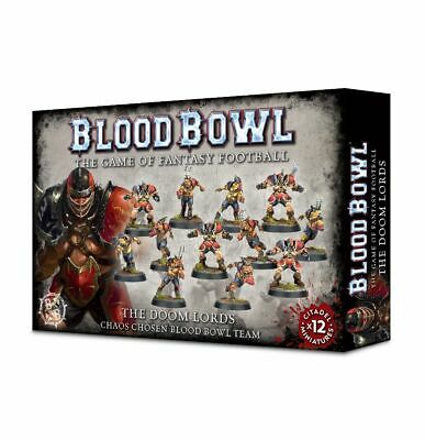 Blood Bowl: The Doom Lords Chaos Chosen Team Games Workshop. 20% Off UK Rrp.  • 20.80£