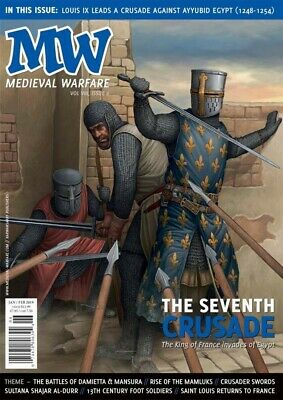 Medieval Warfare Vol 8  Issue 6 - The Seventh Crusade - Wargaming/historical • 7.50£