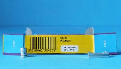 7 X NEW SCALEXTRIC MAGNETS C8427 For SCALEXTRIC CARS MAGNATRACTION • 5.39£