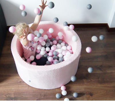 Soft Ball Pit For Kids 300 Pcs Dry Pool Great Gift For Any Occasion • 66£