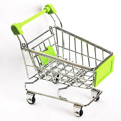 Supermarket Trolley - Miniature - Shopping - Child's  Play Toy Gift -  BRAND NEW • 5.49£