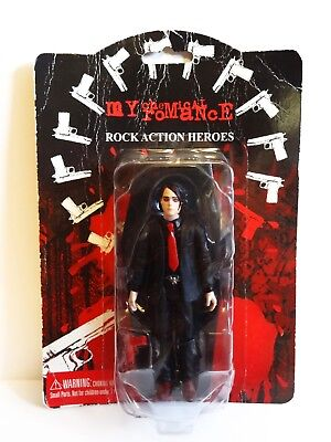 My Chemical Romance Gerard Way Boxed Action Figure Lead Singer Vintage Rare MCR • 139.99£