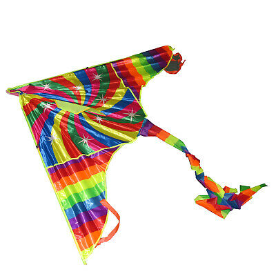 VERY LARGE WIDE WINGSPAN KITE With HANDLE And LINE • 5.99£