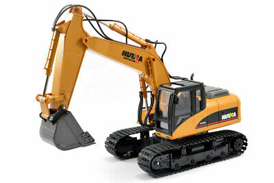 Huina 1/14th Scale Rc Excavator 2.4g 15ch With Die Cast Bucket • 49.95£