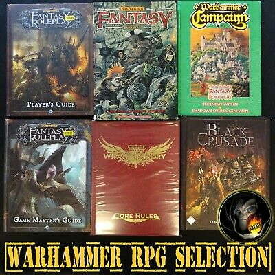 Fantasy Roleplaying - VARIOUS MULTILIST: Inc Runequest, Cthulhu, WFRP RPG R4 • 60£