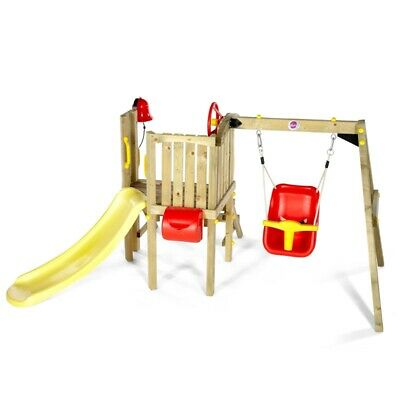 Plum Toddler Tower Wooden Play Centre • 249.95£