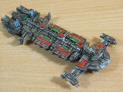Classic Metal Battlefleet Gothic Tau Explorer Battleship Well Painted (1305) • 75£