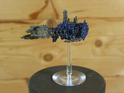 Classic Metal Battlefleet Gothic Space Marine Strike Cruiser Well Painted (2809) • 30£