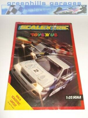 Greenhills Scalextric Electronic Model Racing Catalogue 34th Edition 1993 Toy... • 8.99£