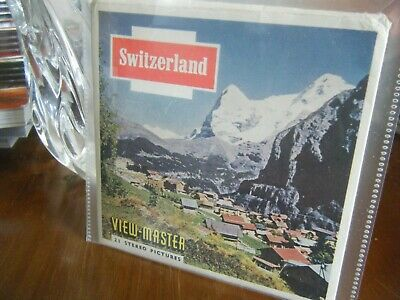 Viewmaster Reels Switzerland • 7.99£