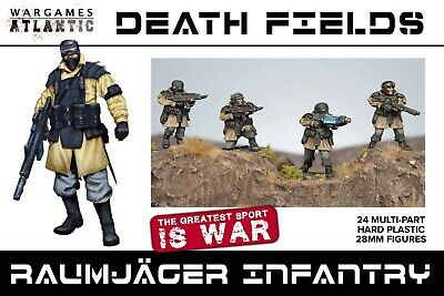 Raumjager Infantry  - Wargames Atlantic - Cadians - Guard - In Stock  • 25£