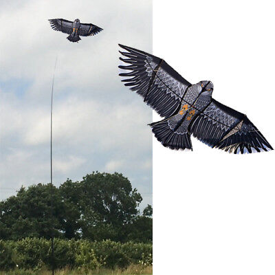 Eagle Kite Kits. Supersize Bird Scarer Protect Farmers Crops. With Pro Pole • 19.99£