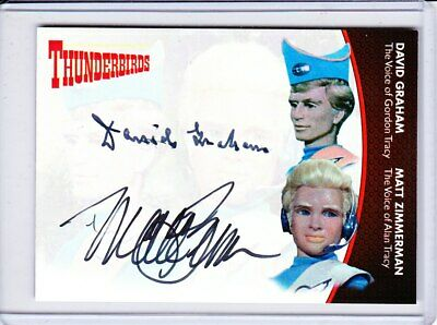 Thunderbirds Series 2 Autograph Trading Card Selection - Unstoppable Cards • 31.95£