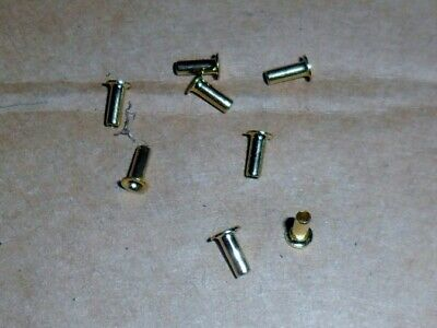 Scalextric 8 Eyelets For Early & Later Easyfit Car Guide Blades - Superb Spares. • 1.49£
