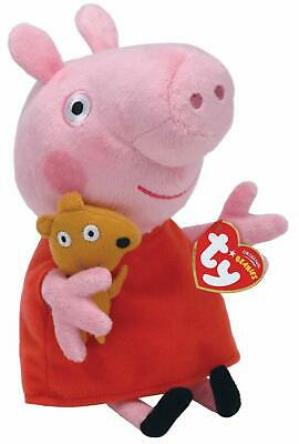 Ty Peppa Pig Plush Soft Toy New With Tags 10  • 12.95£