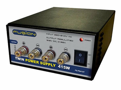 Fusion 415W 13.8V 30Amp Twin Power Supply • 84.99£