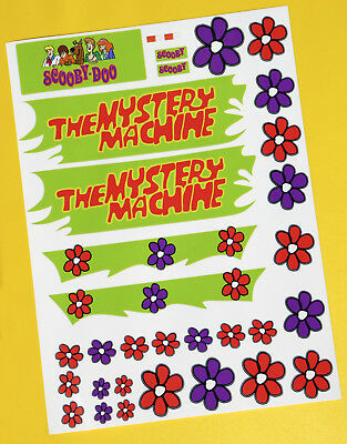 Tamiya Lunch Box Mystery Machine Stickers Decals Ideal For Any 10th Scale RC! • 9.95£