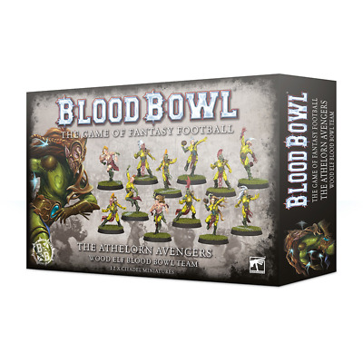 BLOOD BOWL THE ATHELORN AVENGERS WOOD ELF TEAM 20% Off UK Rrp • 20.80£