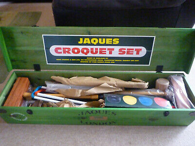 Jaques Croquet Set Millenium Ltd Edition New • 600£