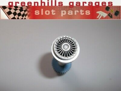 Greenhills Scalextric Mercedes CLK LMP Rear Axle And Wheels - USED - P4967 • 3.99£