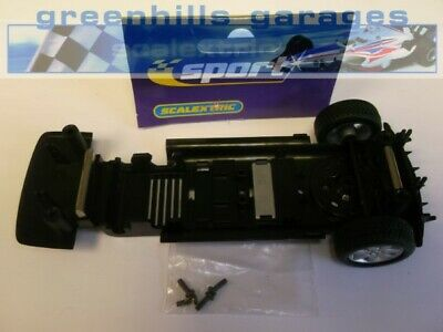 Greenhills Scalextric Accessory Pack Range Rover Police Car Drift Underpan/ax... • 12.99£