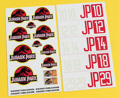 RC Rock Crawler 'JURASSIC PARK' 10th 1/10 Scale Stickers Decals Jeep Wrangler • 10.95£