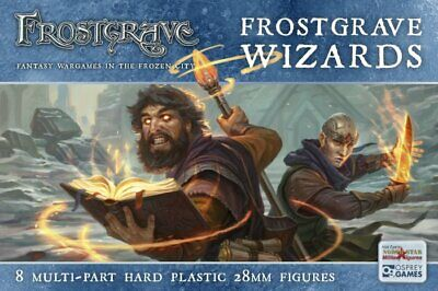 Fgvp06 Frostgrave Wizards  - Frostgrave - Fantasy  - 28mm - Shipping Now • 15£