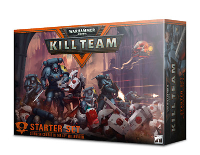 WARHAMMER 40000 KILL TEAM Starter Set Games Workshop 20% Off UK Rrp • 75.97£