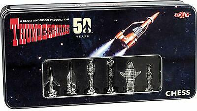 Tactic Games UK Thunderbirds Classic 50th Anniversary Chess Set Game • 10£