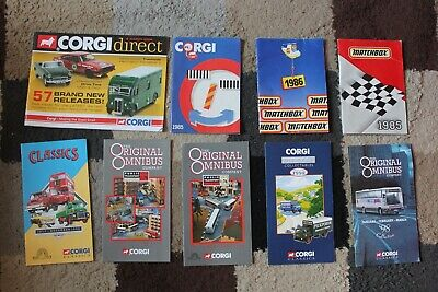 Bundle Job Lot CORGI & MATCHBOX Vintage CATALOGUE Diecast Toy CAR Rare BROCHURES • 20£