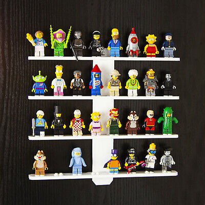 Acrylic Wall Mount Display For LEGO Minifigures • 15.99£