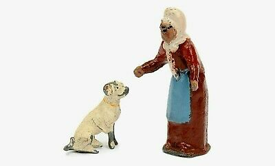 Very Rare Pixyland Kew OLD MOTHER HUBBARD With BEGGING DOG Nursery Rhyme Series • 88£