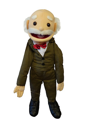 Puppet Grandad Ernest 26  Ventriloquist.Play. Moving Mouth And Arm Rod • 36£