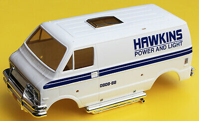 HAWKINS POWER AND LIGHT RC Tamiya Lunch Box Stickers Decals 'Stranger Things' • 9.95£