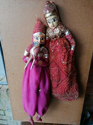 String Puppets Vintage Pair • 45£