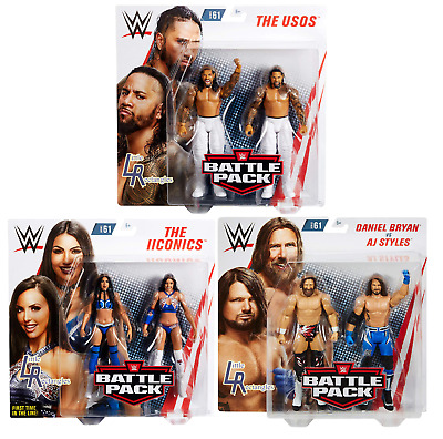 WWE Figures - Battle Pack Series 61 - Mattel - Brand New - Sealed  • 26.95£