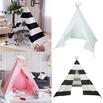 Kids Tent Wigwam Teepee Childrens Play House Indoor Outdoor Princess Girls Boys • 30.98£