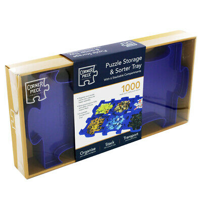 Jigsaw Puzzle Storage And Sorter Tray (null), Toys & Games, Brand New • 9£