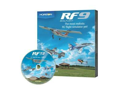 Realflight RF9 Software Only Horizon Hobby Edition : A-RFL1101 • 134.99£