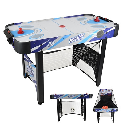 Tabletop Hockey Series Table Game Table Air Hockey Table With 2 Pucks, 2 Pushers • 74.99£
