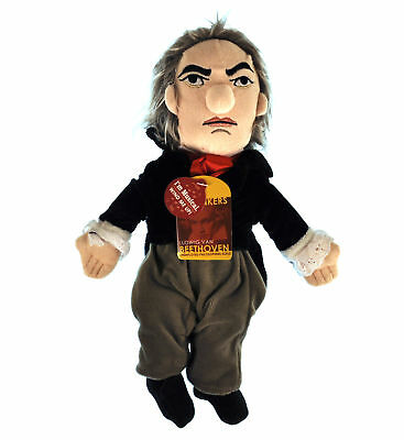 Beethoven Soft Toy - Little Thinkers Doll - Plays Music • 27.99£