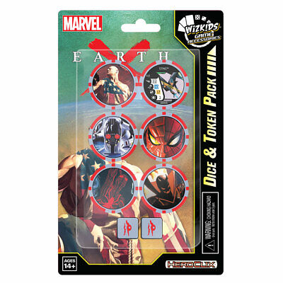 Marvel Heroclix Dice And Token Pack, New & Sealed • 6.99£