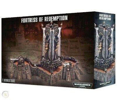 Fortress Of Redemption Warhammer 40,000 40k Games Workshop New In Box (D) • 74.96£
