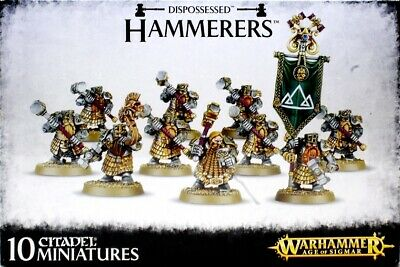 Dispossessed Longbeards/Hammerers Warhammer Age Of Sigmar (D) • 30£