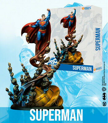 Knight Models Superman DC Universe Miniature Game New And Sealed • 33.99£