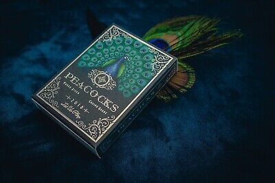 Peacocks Playing Cards • 10£