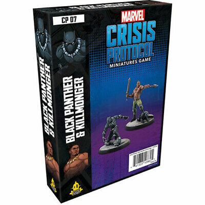 Marvel Crisis Protocol Miniatures Game Black Panther & Killmonger New And Sealed • 29.99£